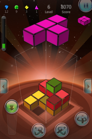 Screenshot Tetra3D – A 3D Game
