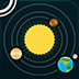 Solar System for iPad logo